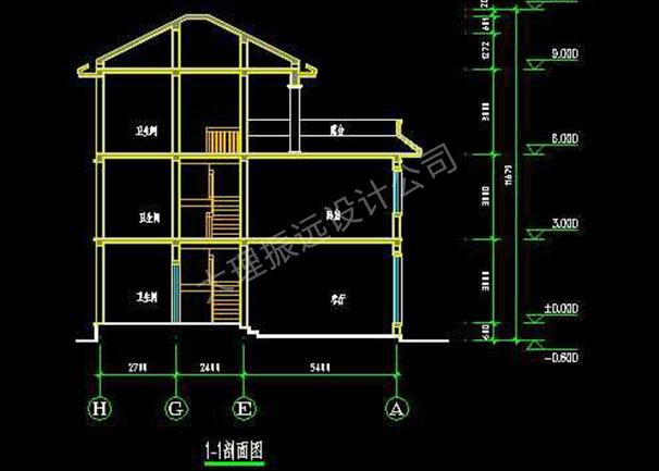 家居别墅图纸设计