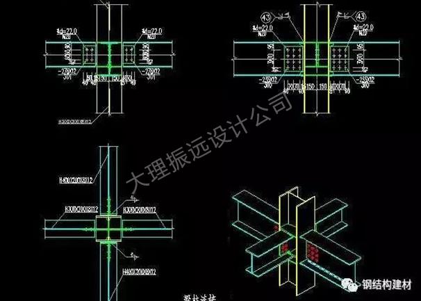 云南框架搭建设计图制作