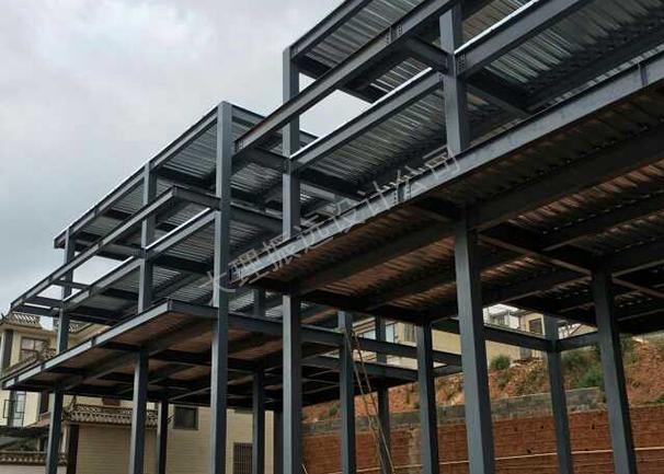海景酒店钢结构图纸设计案例