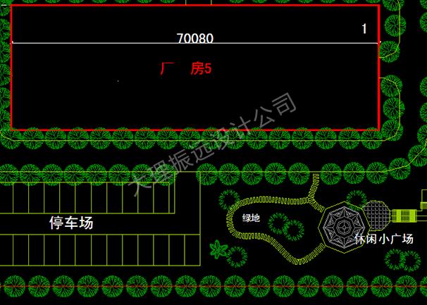 工业地块规划结构图