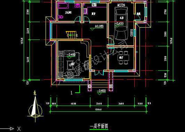 家居别墅内部结构图