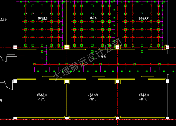 冷库内部结构设计图