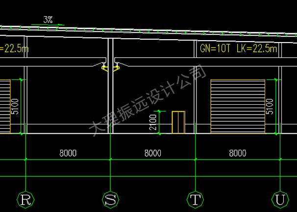 厂房结构图
