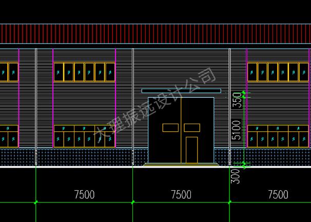 生产厂房平面设计图