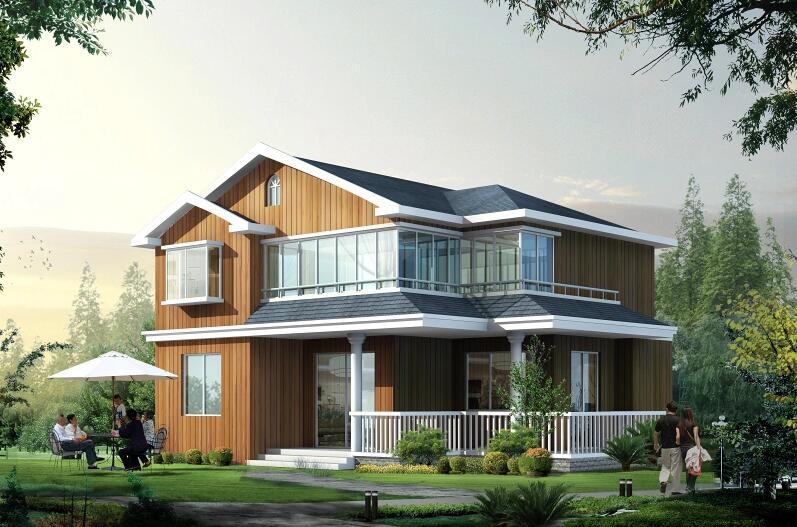 农村两层小别墅设计图