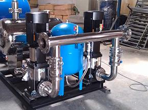 供水胶囊应用于供水设备