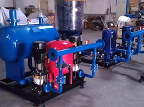 卧式胶囊应用于供水设备