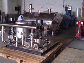 橡胶胶囊应用于供水设备