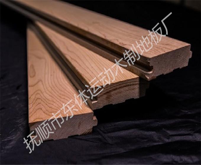 运动木地板-进口枫木地板