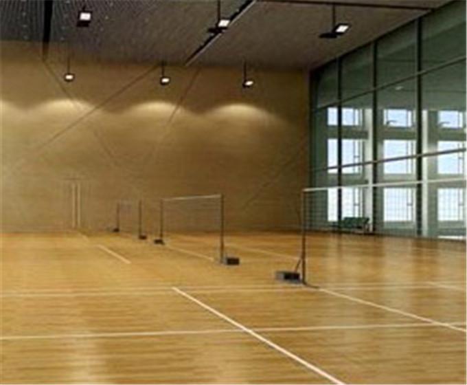 篮球场馆安装运动木地板主要有以下6个方面
