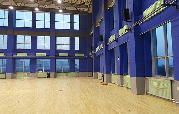 篮球场馆安装运动木地板主要以下6个方面