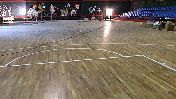 沈阳篮球场地板