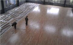 实木运动木地板厂家