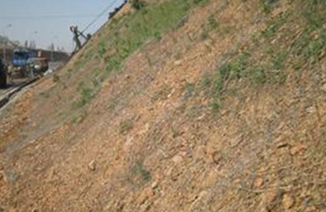 贵州山体绿化喷播挂网
