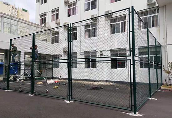 荔波县中医医院球场围网