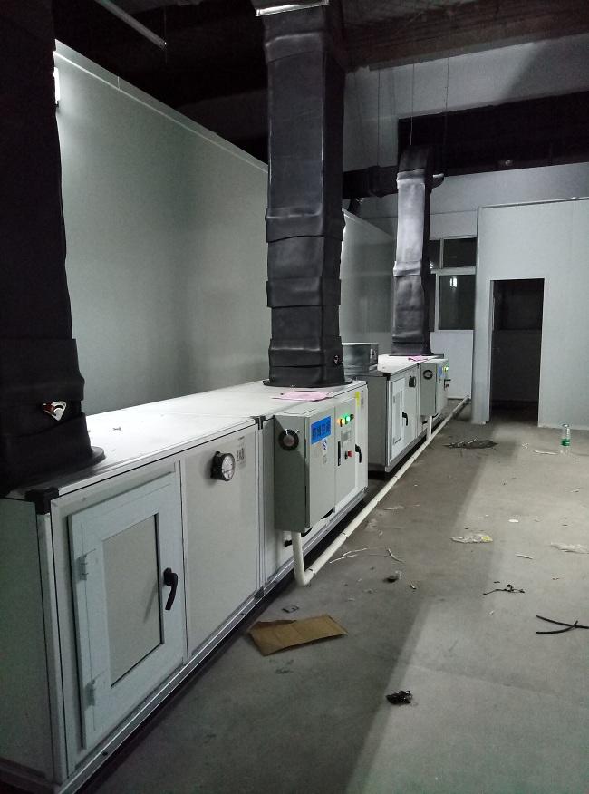 湖南食品厂净化无尘车间