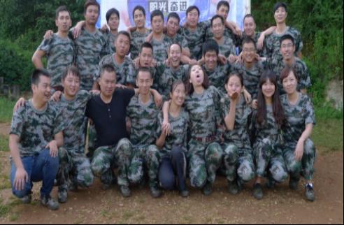 华润水电连续3年团队拓展训练