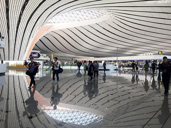 """兰州全息投影技术分享大兴国际机场投运 """"双机场""""运营开启区域航空新格局"""