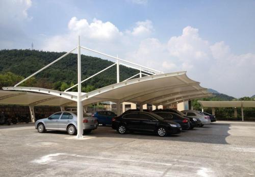 自贡膜结构停车棚