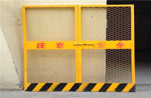 施工电梯临时防护