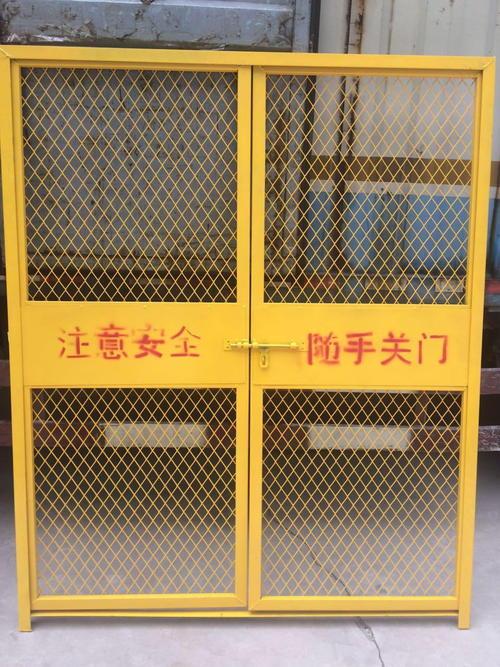 施工电梯安全防护