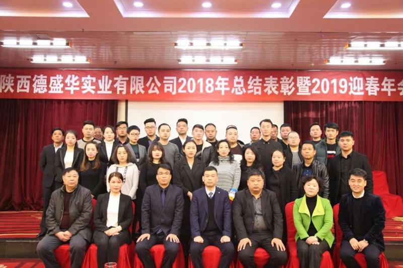 陕西德盛华实业2018年工作总结暨2019年迎春联欢会隆重举办