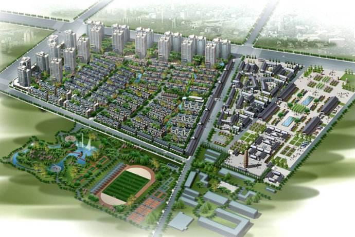 西 安 · 泾 渭 上 城