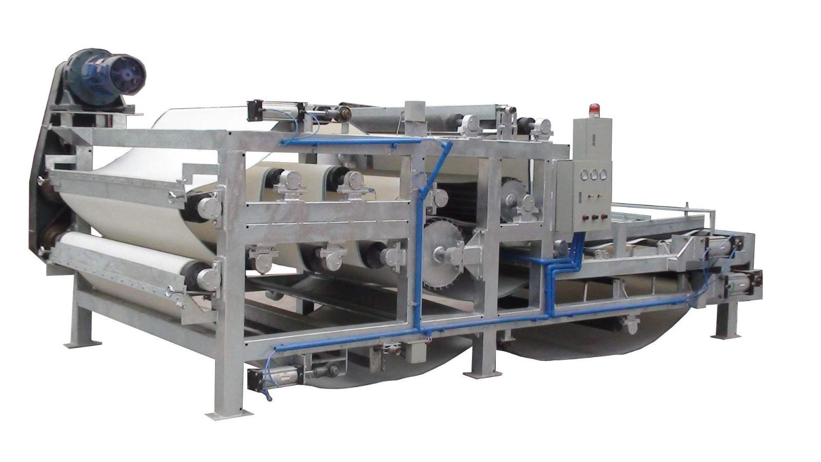 浅析带式压滤机的应用程度