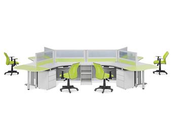 屏风隔断相对于传统办公桌有哪些优势?