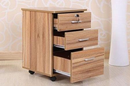 可移动文件矮柜-大为家具
