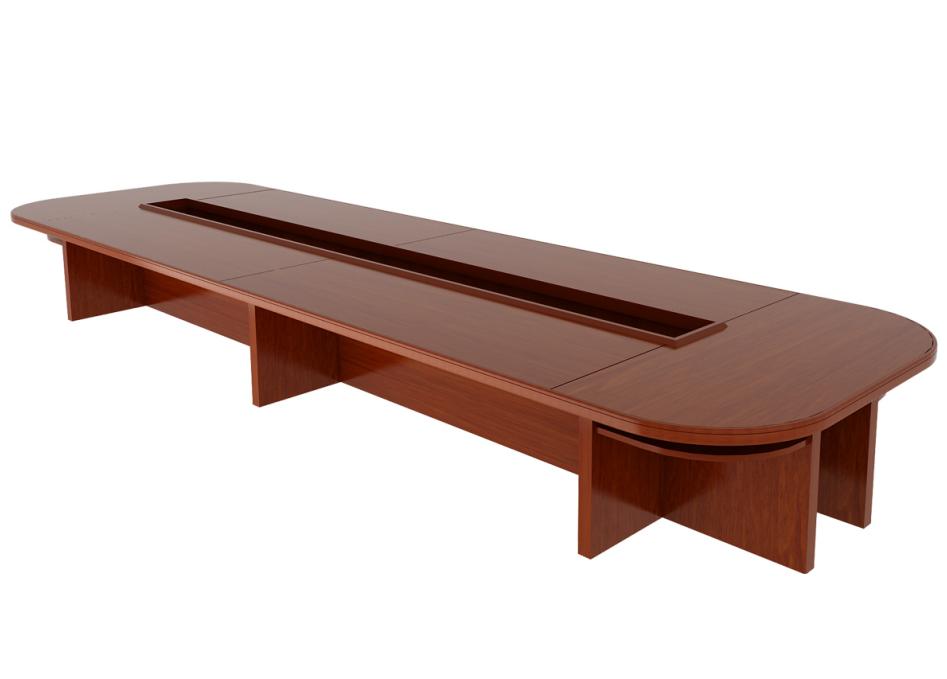 油漆会议桌4-大为家具