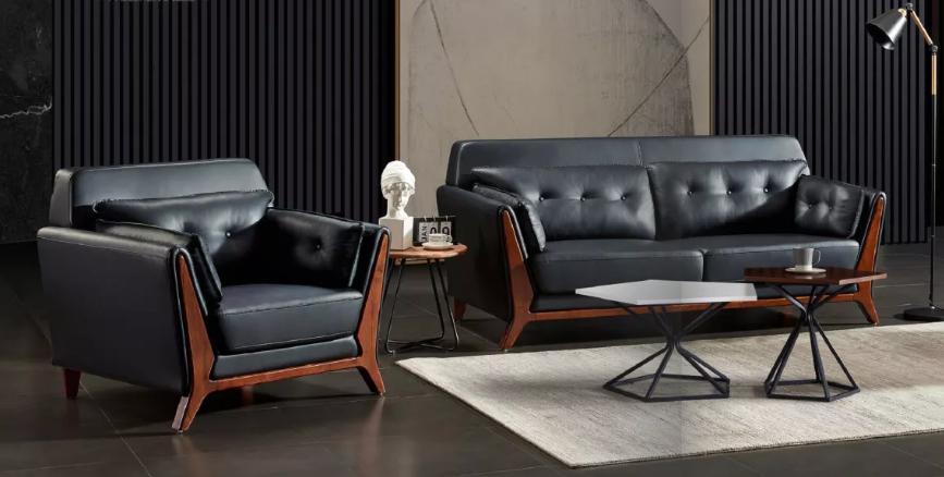 真皮沙发3-大为家具