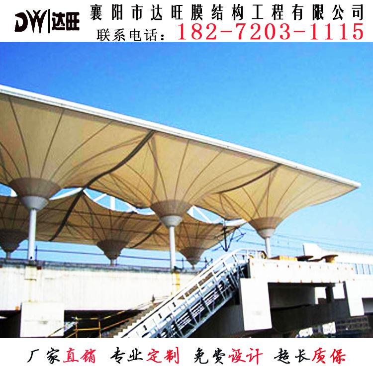 膜结构走廊建筑施工
