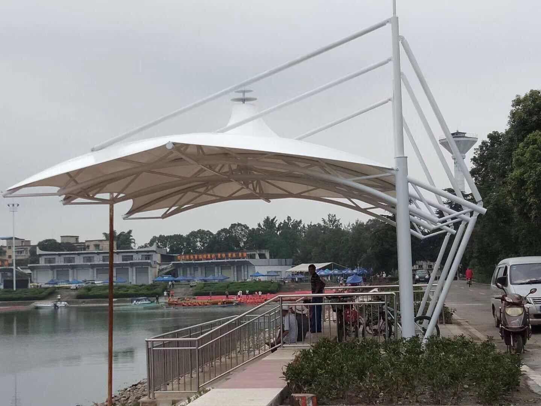成都新津水上运动学校膜结构看台