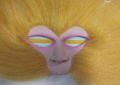 自制美猴王脸谱