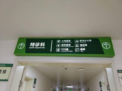 医院导视牌
