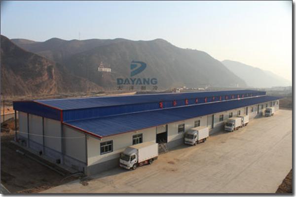 商洛聚丰农业综合开发有限公司物流冷库建造