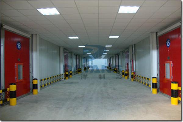 黄陵矿业集团公司生态果蔬气调保鲜冷库建造