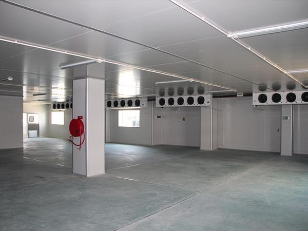冷库在安装的过程中一定要注意防火