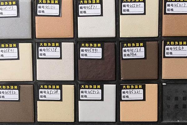 四川外墙砖的表面历经烧釉解决的品质墙砖