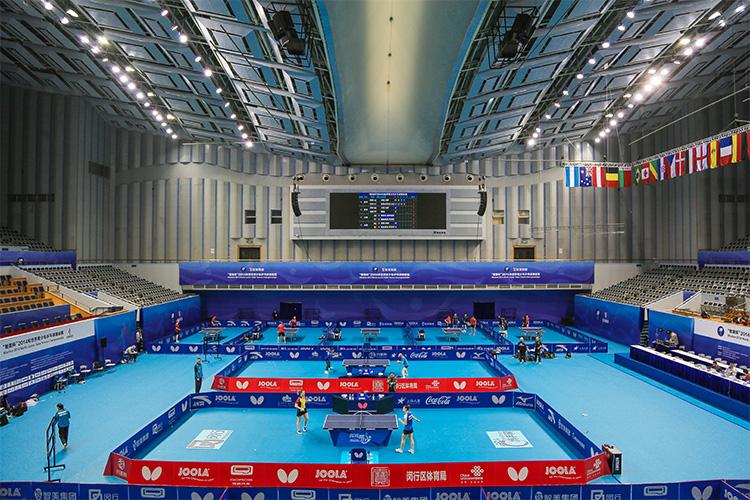 智美杯 2014年世界青少年乒乓球锦标赛