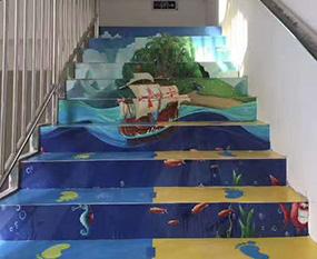定制楼梯地胶