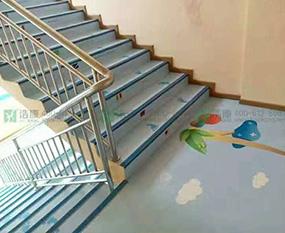 长沙楼梯定制地胶