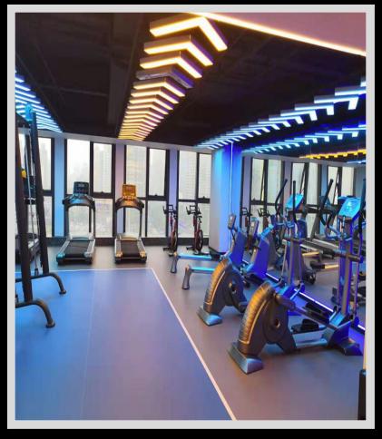 长沙市西兰蒂亚酒店健身房项目