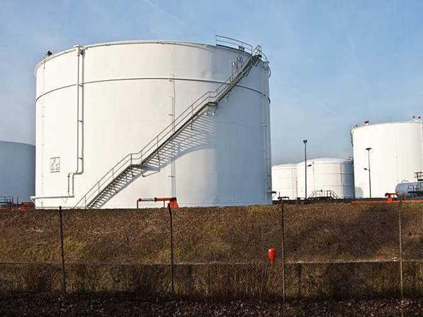 德阳大型储油罐安装成功
