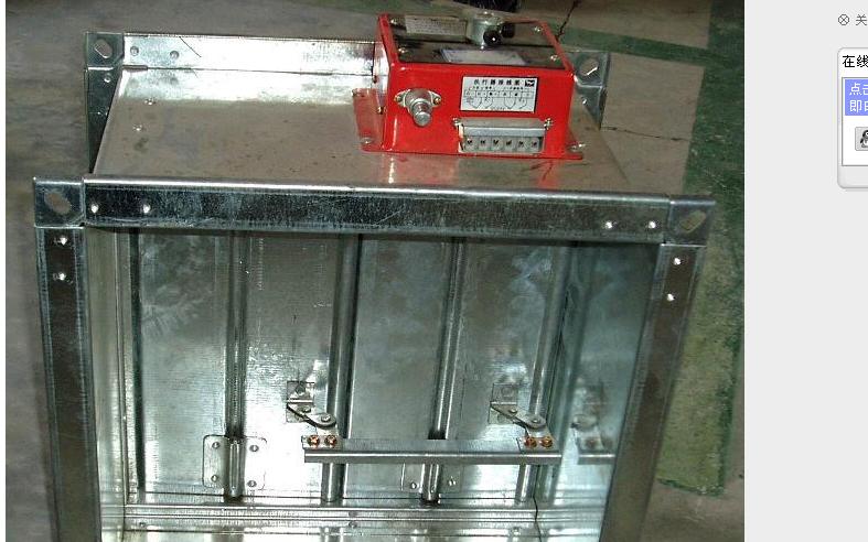 青岛镀锌板铆接型排烟防火阀报价低
