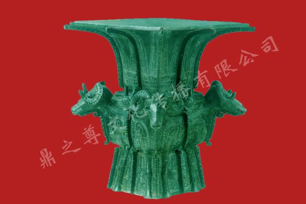 四羊方尊青铜器