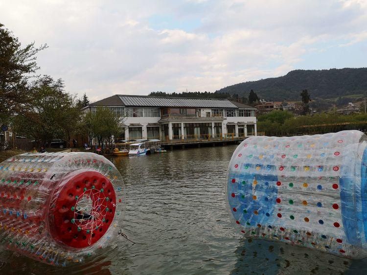 山庄水上滚筒球