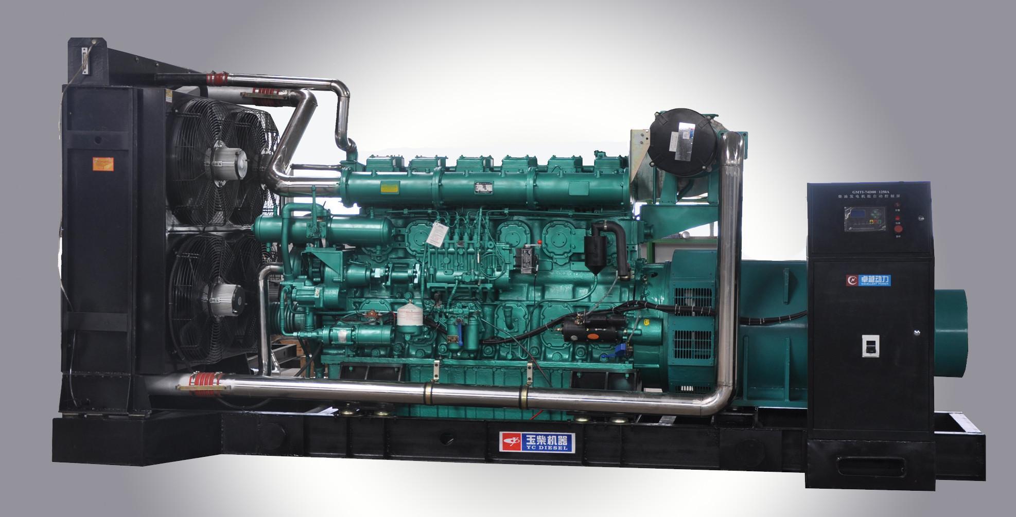 玉柴发电机组系列(800-2200KW)出租报价