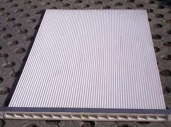 塑烧板是什么材质做成的